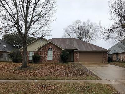Bossier City Single Family Home For Sale: 2226 Middle Creek Boulevard