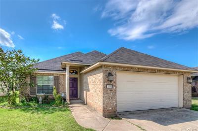 Bossier City Single Family Home For Sale: 3605 Amite River Drive