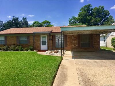 Bossier City Single Family Home For Sale: 3412 Ponderosa Drive