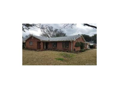 Shreveport LA Single Family Home For Sale: $169,000