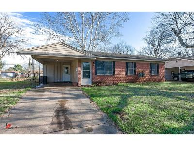 Bossier City Single Family Home For Sale: 5307 Jonquil Street