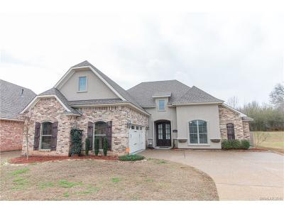 Haughton Single Family Home For Sale: 314 Wood Springs Lane