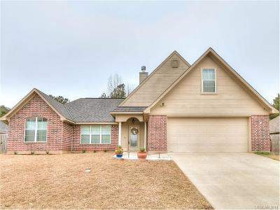 Haughton Single Family Home For Sale: 459 Cross Drive
