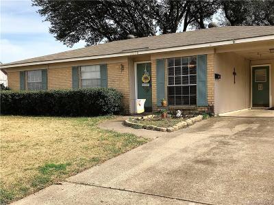Bossier City LA Single Family Home For Sale: $129,900