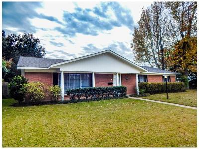 Shreveport LA Single Family Home For Sale: $219,000