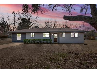 Shreveport LA Single Family Home For Sale: $125,000
