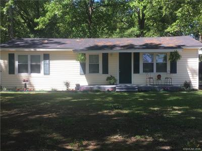 Minden Single Family Home For Sale: 254 Calvin Liner Road
