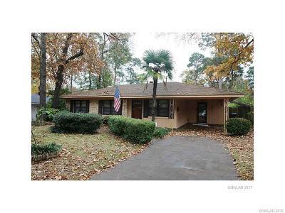 Shreveport LA Single Family Home For Sale: $120,000