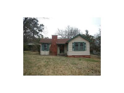 Shreveport LA Single Family Home For Sale: $21,000