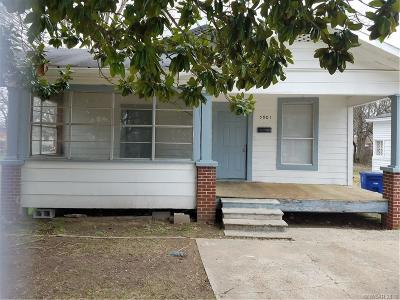 Shreveport Single Family Home For Sale: 5901 2nd Street