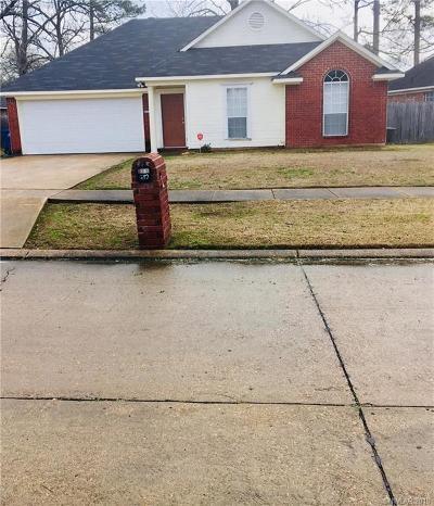 Shreveport Single Family Home For Sale: 8223 Green Leaf Ln.