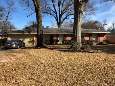 Shreveport Single Family Home For Sale: 4505 Gilbert Drive