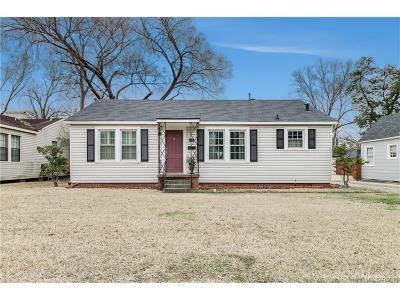 Shreveport Single Family Home For Sale: 512 Dudley Drive
