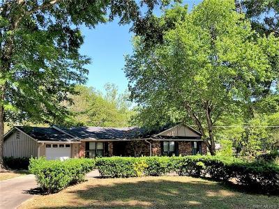 Shreveport Single Family Home For Sale: 862 Willow Drive