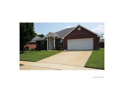Bossier City Single Family Home For Sale: 104 Heritage Drive