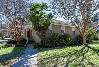 Shreveport Single Family Home For Sale: 607 Monrovia Street