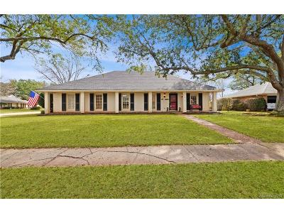 University Terrace, University Terrace South Single Family Home For Sale: 1501 Lafitte Cove