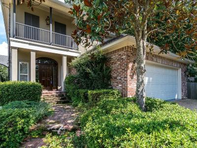 Shreveport Single Family Home For Sale: 9114 Colonial Gardens