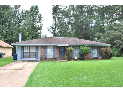 Shreveport Single Family Home For Sale: 437 Gravois Drive