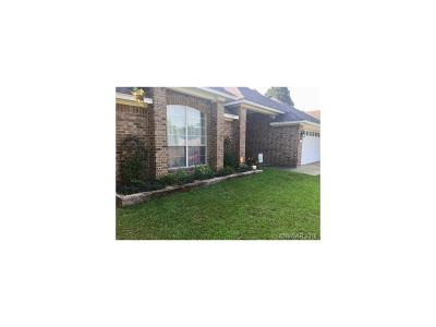 Haughton Single Family Home For Sale: 110 Satinwood
