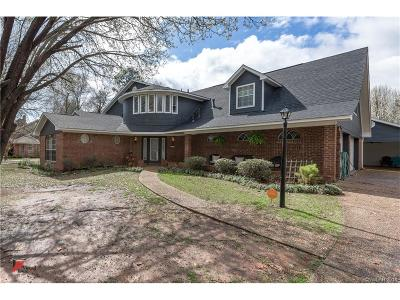 Benton Single Family Home For Sale: 4903 Willow Chase Drive
