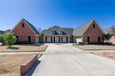 Bossier City Single Family Home For Sale: 221 Welham Trace