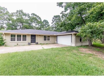 Shreveport LA Single Family Home For Sale: $137,500