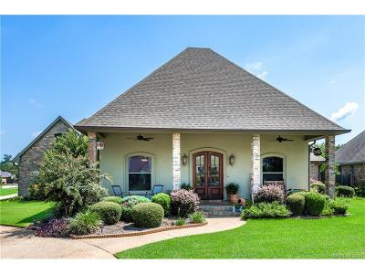 Bossier City Single Family Home For Sale: 206 Welham Trace