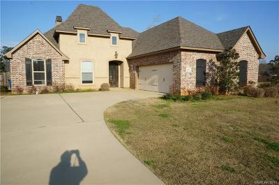 Haughton Single Family Home For Sale: 1203 Dry Creek
