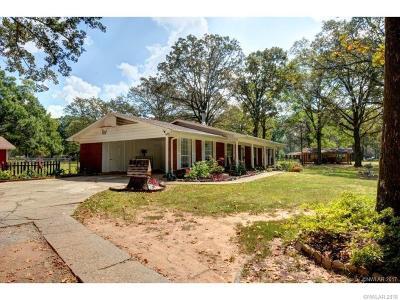 Benton Single Family Home For Sale: 1737 Palmetto Road