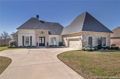 Bossier City Single Family Home For Sale: 1019 Spanish Moss Circle