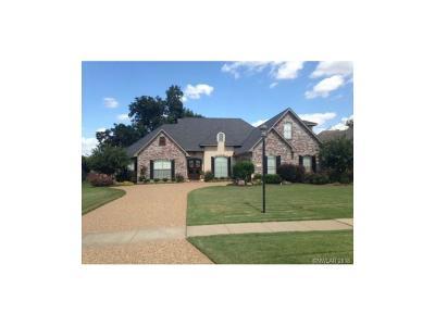 Shreveport Single Family Home For Sale: 655 Pickett's Mill Drive