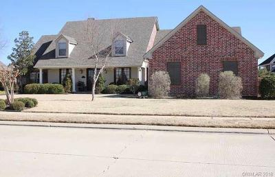 Bossier City Single Family Home For Sale: 13 Waterbury Drive