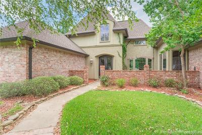 Haughton Single Family Home For Sale: 2704 Sweet Briar Bluff
