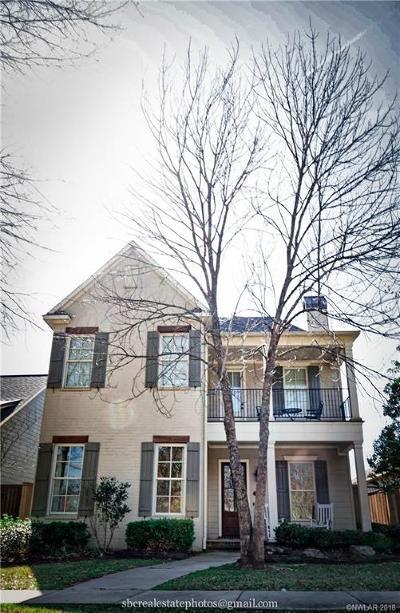 Shreveport Single Family Home For Sale: 2040 Bridgewater