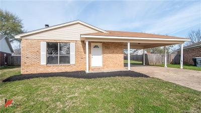 Bossier City Single Family Home For Sale: 2213 General York