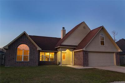 Haughton Single Family Home For Sale: 422 Cross Drive