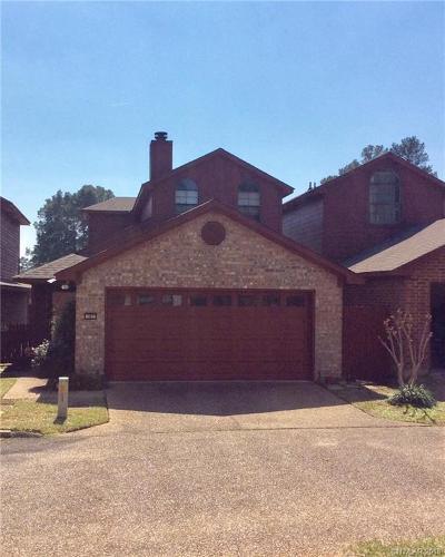 Shreveport Single Family Home For Sale: 187 Fountain View
