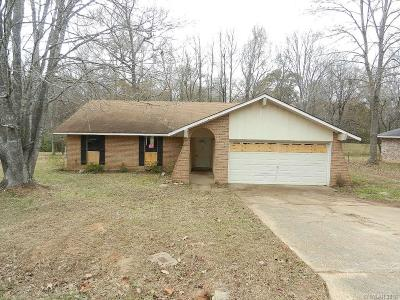 Haughton Single Family Home For Sale: 637 Pine Cone Drive