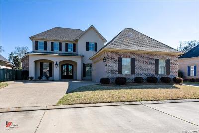 Shreveport Single Family Home For Sale: 9011 Vue Fleur Lane