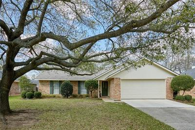 Bossier City Single Family Home For Sale: 555 Northpark Drive