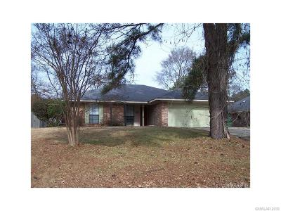 Haughton Single Family Home For Sale: 8925 Hollow Bluff Drive