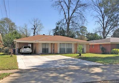 Shreveport LA Single Family Home For Sale: $99,900