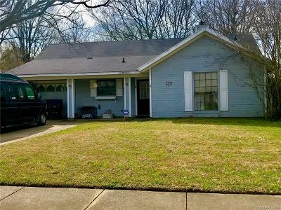 Bossier City Single Family Home For Sale: 2419 Brookhaven Drive