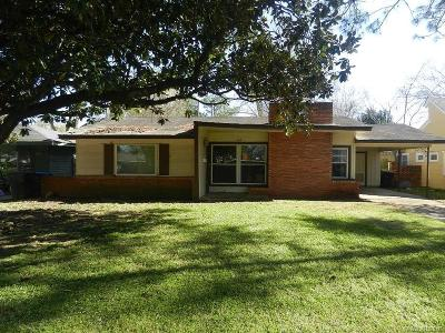 Shreveport LA Single Family Home For Sale: $79,900
