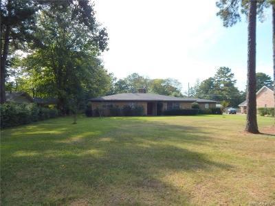 Benton Single Family Home For Sale: 1323 Palmetto Road