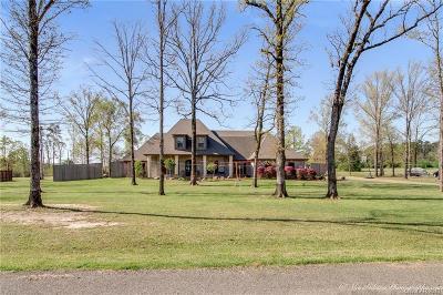 Shreveport Single Family Home For Sale: 7859 Oak Creek Trail