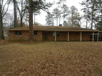Benton Single Family Home For Sale: 1220 Lee Street