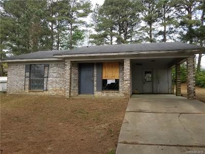 Minden Single Family Home For Sale: 513 Fincher Road