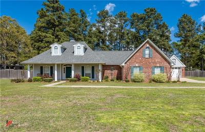 Keithville Single Family Home For Sale: 3732 Fountainbleau Road